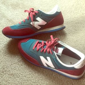 J Crew x New Balance collab sneakers